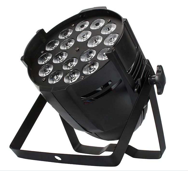 18x18W RGBWA + UV 6in1 LED PAR
