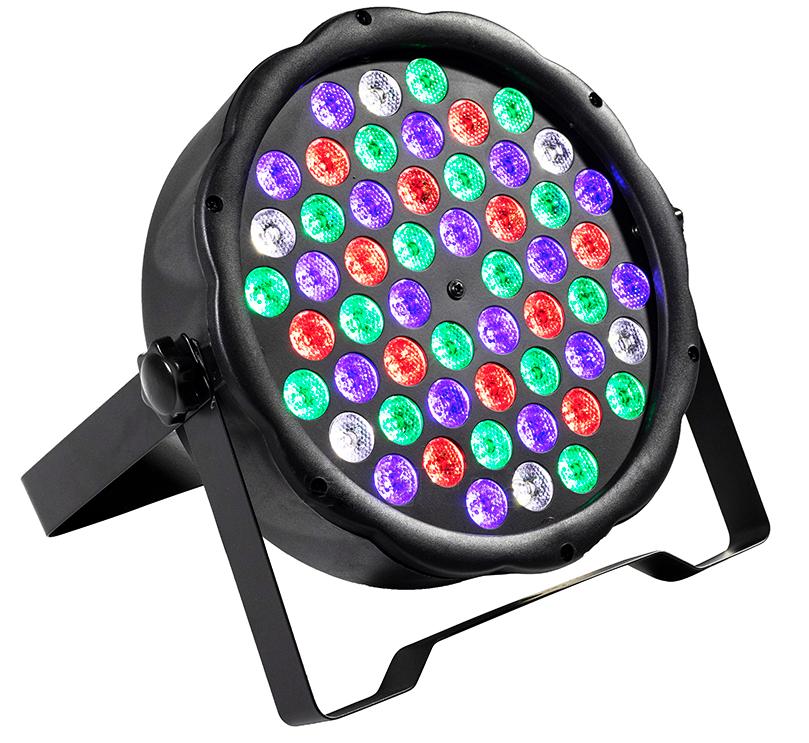 54X3W Slim LED PAR